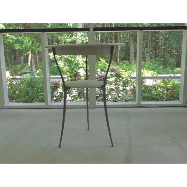Mid Century Italian Arper Aluminum Table - Image 10 of 10