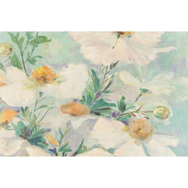 "Mary Purdum ""Big White Flowers"" Painting - Image 6 of 10"