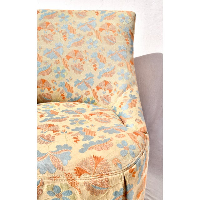 French Slipper Chairs by Grange France For Sale - Image 9 of 11