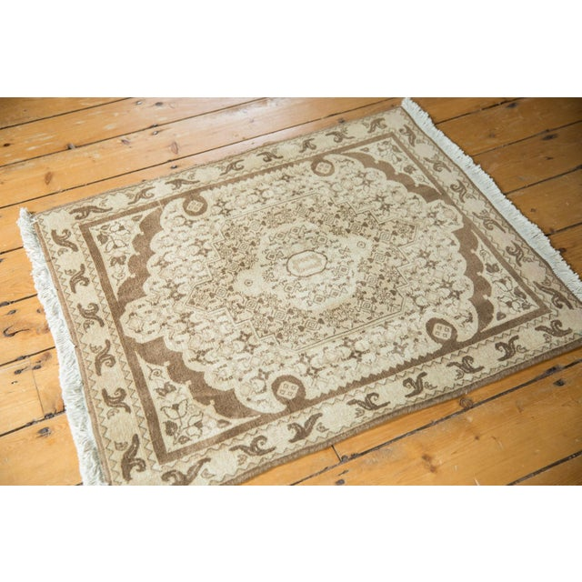 "Textile Vintage Bijar Square Rug - 2'6"" X 3' For Sale - Image 7 of 9"
