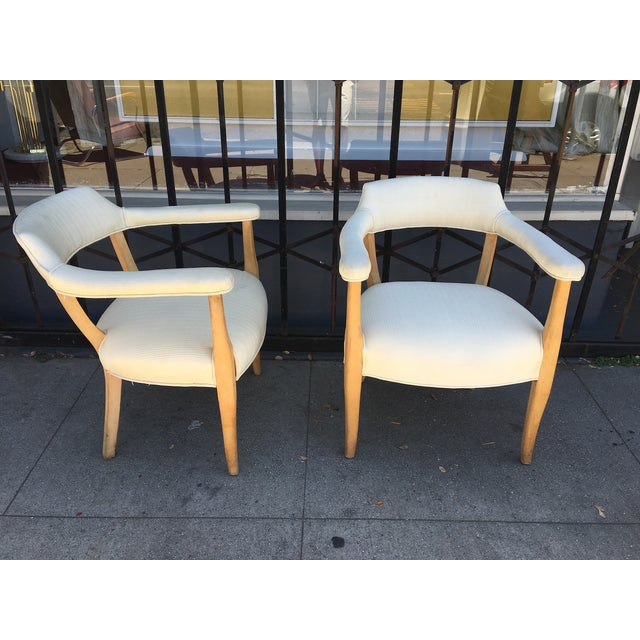 Mid-Century Modern Mid-Century Sculptural Armchairs - A Pair For Sale - Image 3 of 11