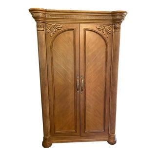 Bernhardt Wooden Entertainment Armoire For Sale