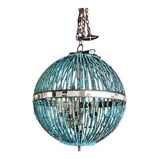 Currey and Company Alberto Orb Chandelier For Sale
