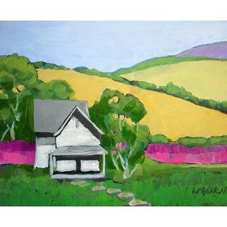 Pescadero California Flower Farm Landscape Lynne French For Sale