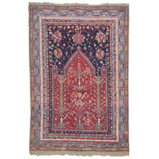 Antique Oushak Prayer Rug For Sale