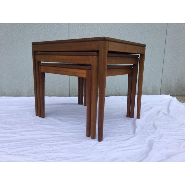 1960's Modern Drexel Declaration Nesting Tables - Image 7 of 9