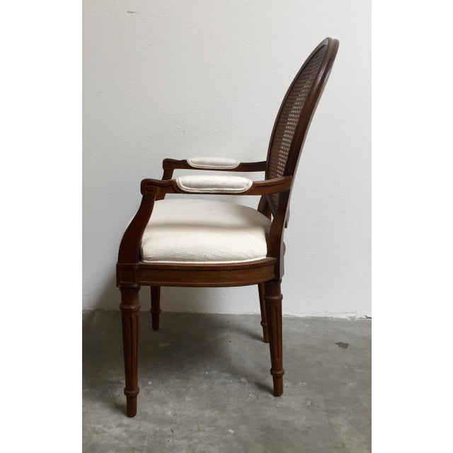 Louis XVI Style Dining Chairs- Set of 6 - Image 6 of 11