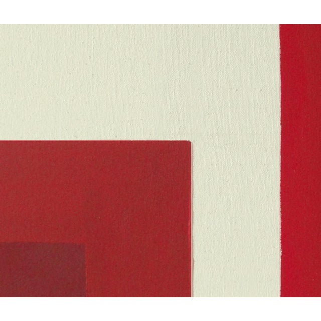 Ron Burgundy No. 1 Acrylic on Canvas - Image 4 of 4
