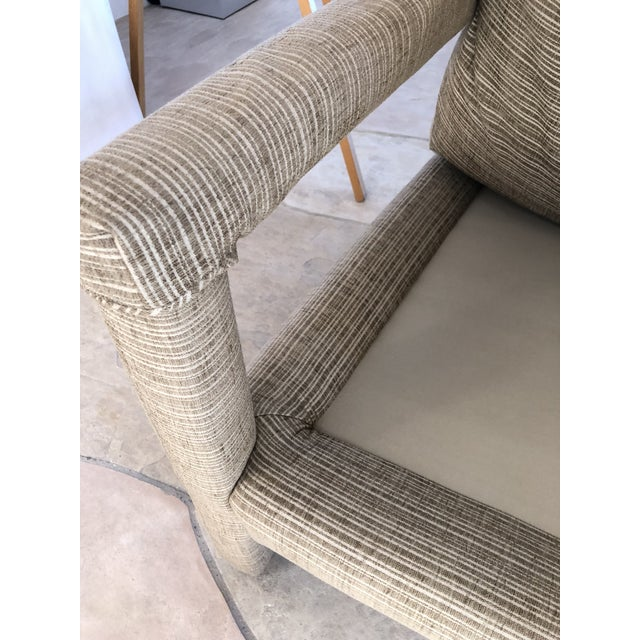1970s 1970s Vintage Parsons Lounge Chairs - A Pair For Sale - Image 5 of 13