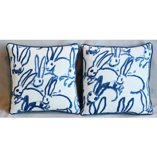 "Designer Groundworks Bunny Hutch Feather/Down Pillows 17"" Square - Pair Preview"
