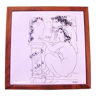Pablo Picasso Les Artistes Ceramic Tile
