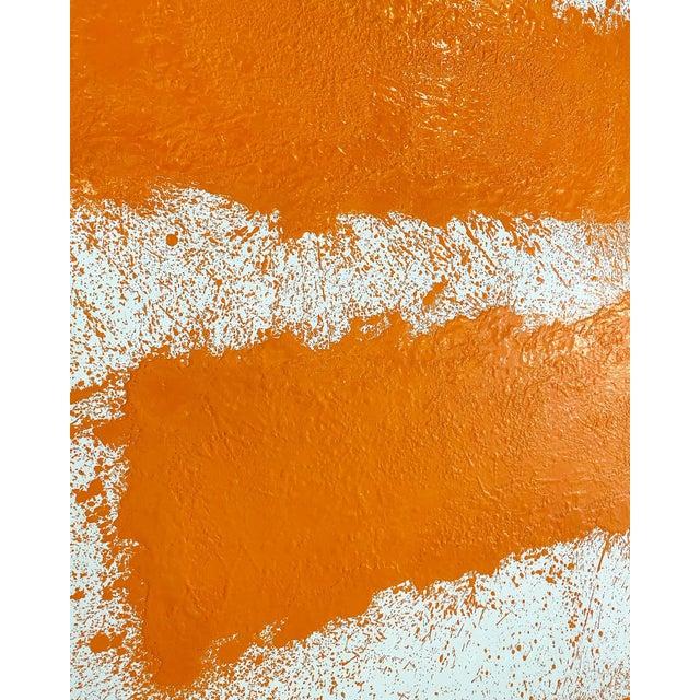 Abstract John O'Hara, Tar, T2, Encaustic Painting For Sale - Image 3 of 10