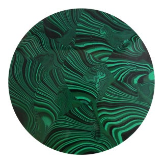 Malachite Decorative Plate