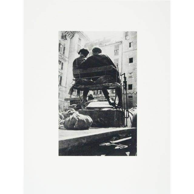 """Wagon"" Photogravure by Herbert Bayer - Image 1 of 2"