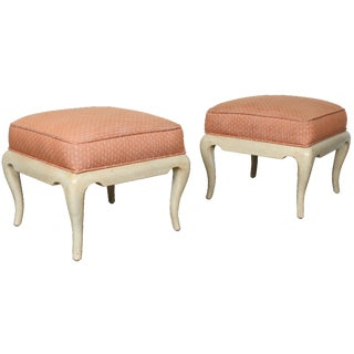 Pink Low Stools - Set of 4 For Sale