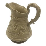 Image of Ridgeway & Co. English Pitcher With Hunting Scene For Sale
