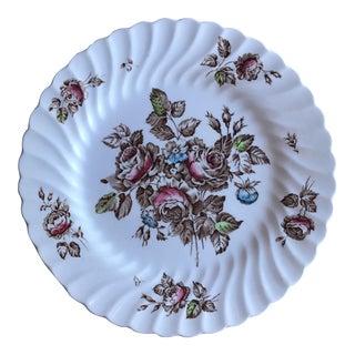 "Vintage Johnson Brothers Floral ""Devon Sprays"" 10"" Plate"