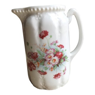 Vintage German Flower Vase Pitcher