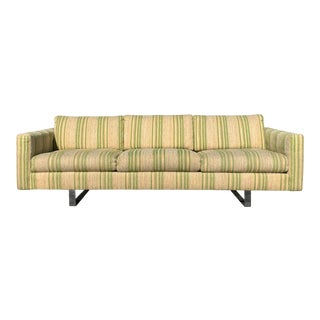 Mid Century Modern Floating Sofa Made by Founders For Sale