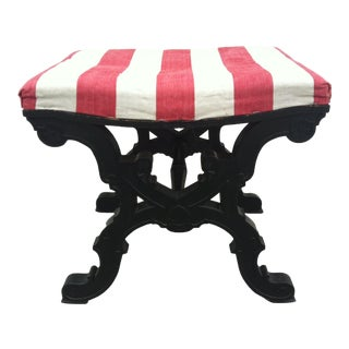 19th Century Wooden Stool For Sale