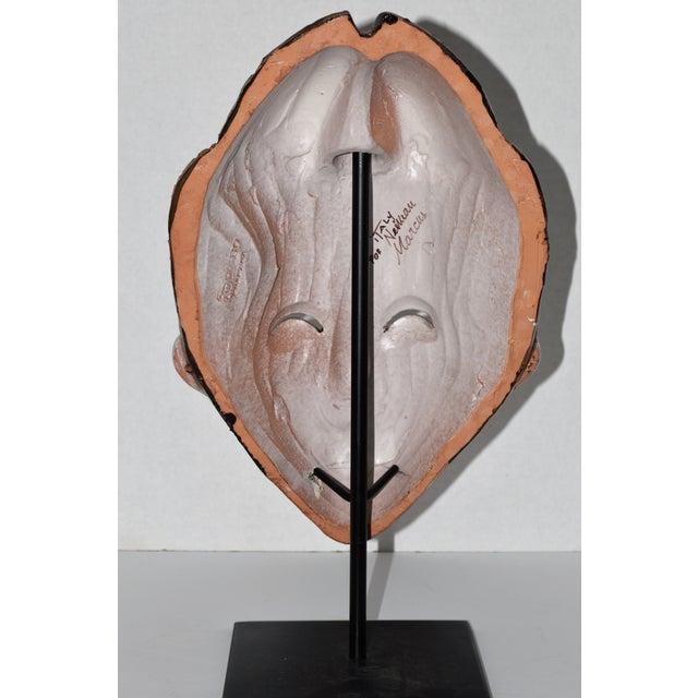 Neiman Marcus Italian Clay African Tribal Mask - Image 5 of 8