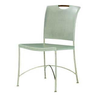 Century Furniture Canvas Side Chair For Sale
