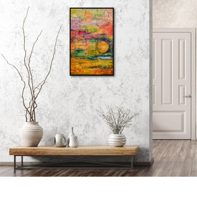 Contemporary Terra Firma Abstract Painting For Sale - Image 3 of 5