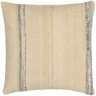 "Nalbandian - 1960s Turkish Hemp Pillow - 20"" X 20"" For Sale"
