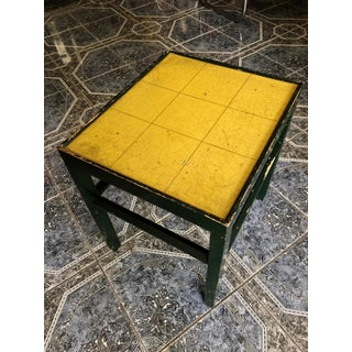 20th Century Rustic Kittinger Modern Painted Side Table Preview