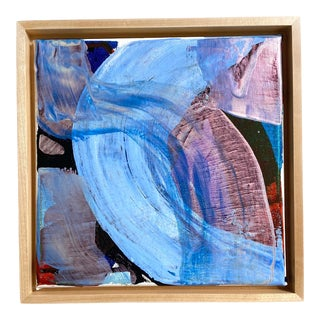 "Jessalin Beutler ""Weekend Weather"" 2021 Framed Painting For Sale"