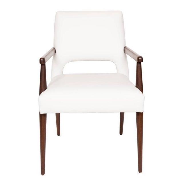 2010s Customizable Set of Ten Hofford Dining Chairs For Sale - Image 5 of 6