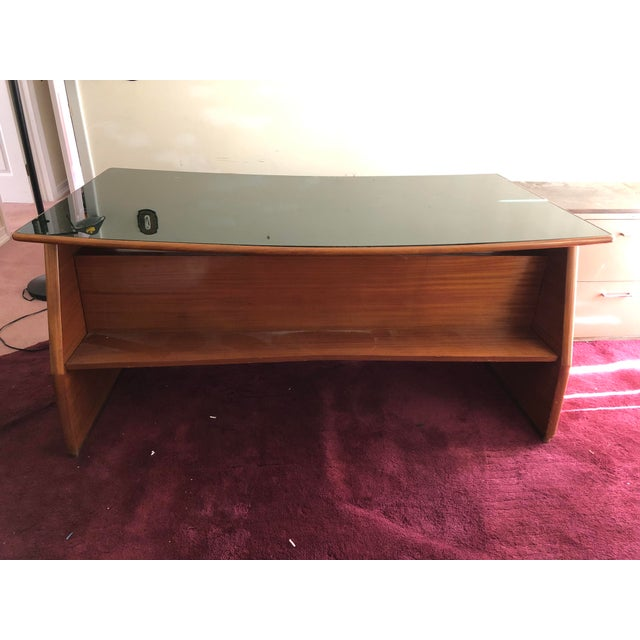 Mid Century Italian Made Desk Inspired by Paolo Buffa For Sale - Image 12 of 12