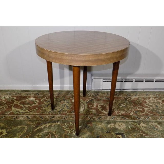 1960's Vintage Thonet Round Side Table For Sale - Image 13 of 13