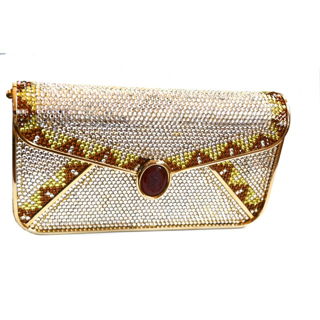 Judith Leiber Crystal Bag For Sale In New York - Image 6 of 7