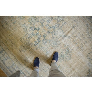 "Vintage Distressed Oushak Carpet - 6'9"" X 9'8"" Preview"