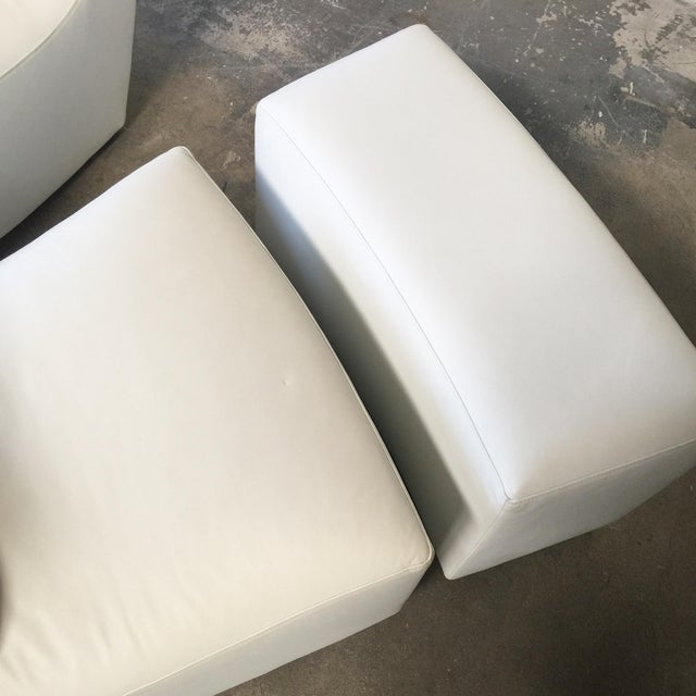 Ligne Roset 'Neo' Rocking Chair & Ottoman by Alban-Sebastien Gilles For Sale - Image 5 of 6
