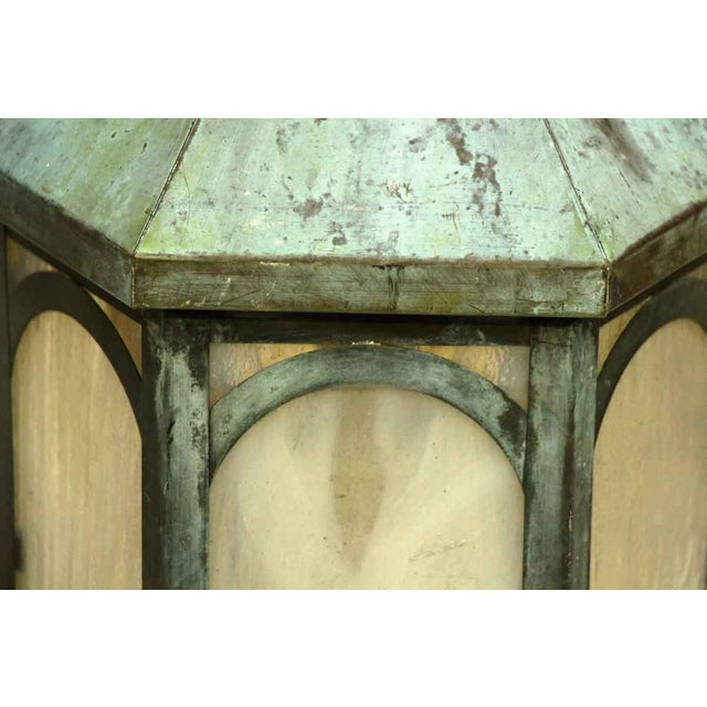 Antique Lantern Sconce For Sale In New York - Image 6 of 9