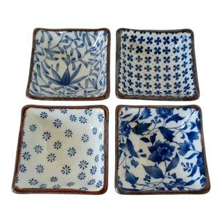 Japanese Porcelain Sauce Bowls, Set of 4 For Sale