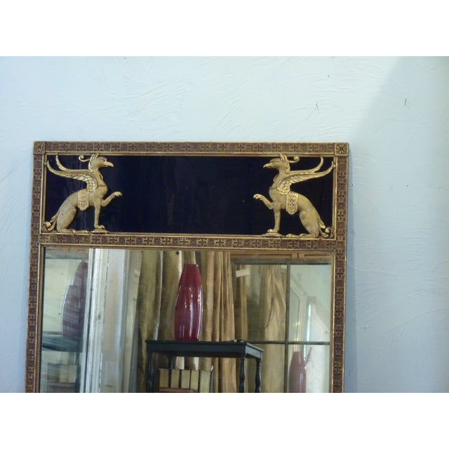 Early 20th Century Antique Art Deco Mirror For Sale - Image 4 of 8