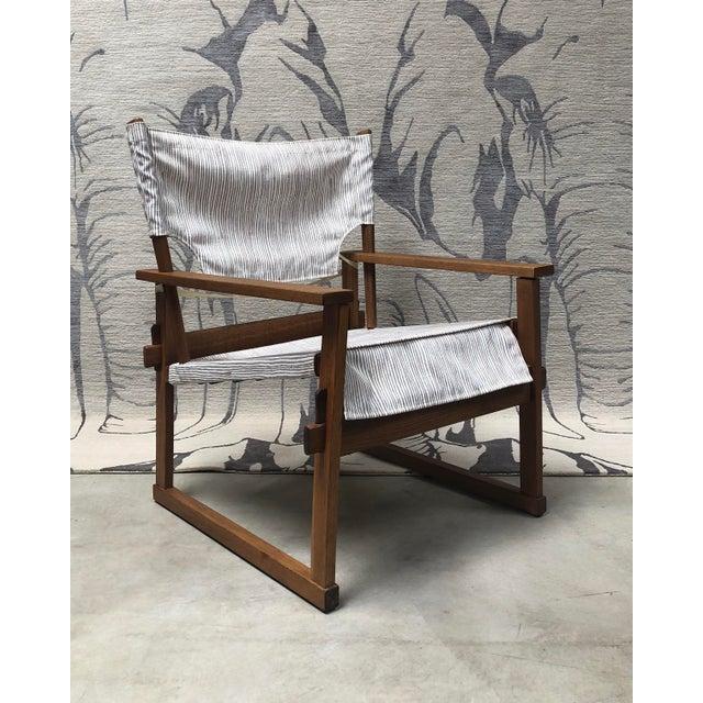 1950s Danish Modern Poul Hundevad Safari Chair For Sale - Image 12 of 12