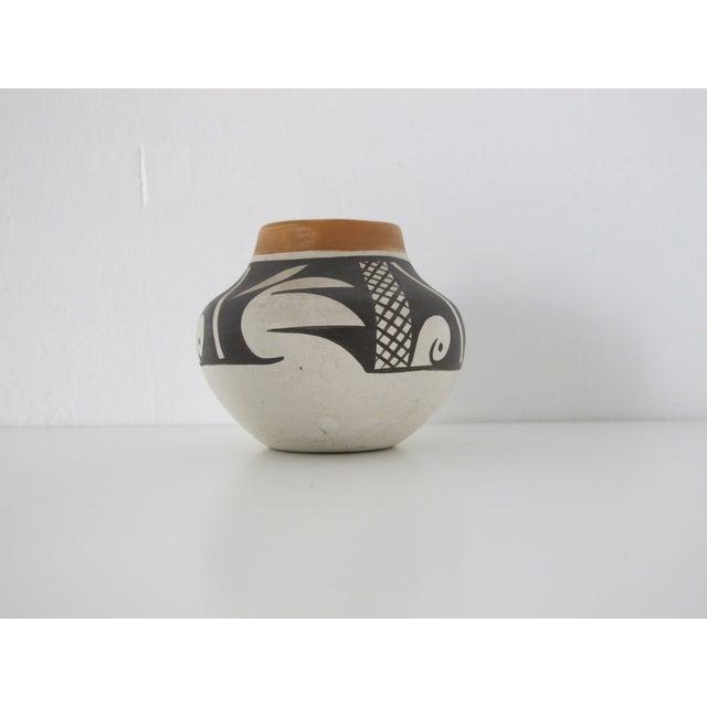 Acoma Native American Bud Vase - Image 2 of 5