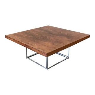 1970s Milo Baughman Coffee Table For Sale