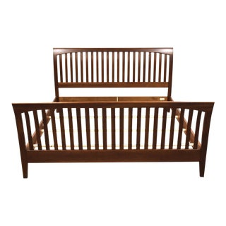 Ethan Allen American Impressions King Cherry Bed For Sale
