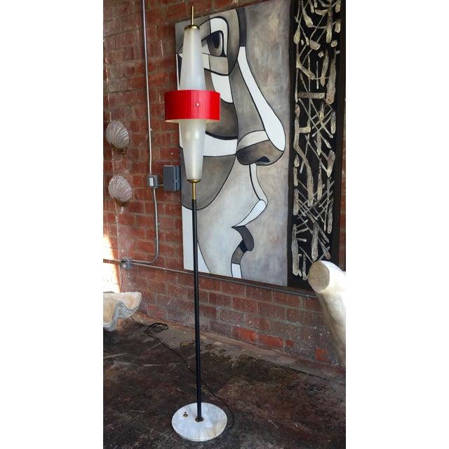 Rare Italian Torchere by Stilnovo For Sale - Image 9 of 12