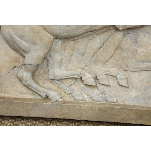 Plaster Neoclassical Plaster Panel For Sale - Image 7 of 9