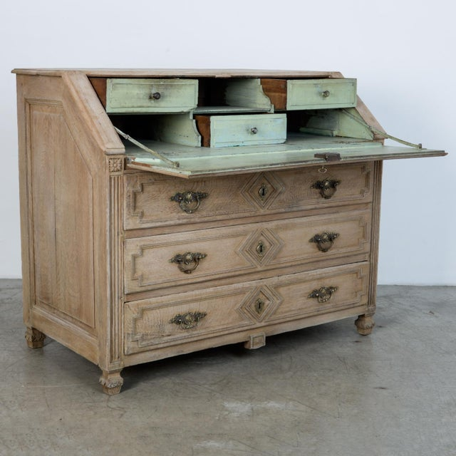 Metal 1860s French Secretary Cabinet For Sale - Image 7 of 10