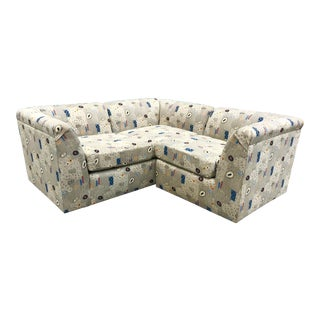 Vintage Contemporary Atomic Sectional - 2 Pieces For Sale
