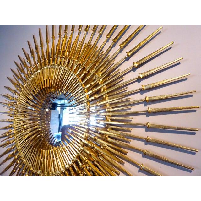 """""""Corona Regalis"""" a contemporary wall sculpture/mirror by Del Williams - Image 2 of 6"""