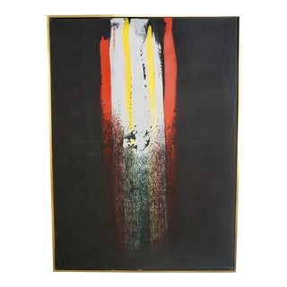 Abstract Painting by Julius Wasserstein For Sale