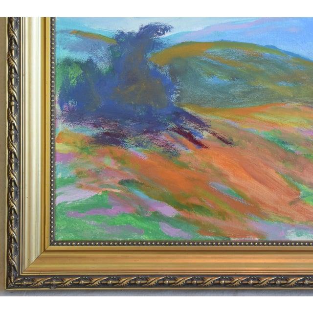 Juan Guzman, Ojai California Original Impressionist Landscape Oil Painting For Sale In Los Angeles - Image 6 of 9